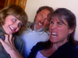 Sometimes, kids find it fun to get their parents acting crazy.